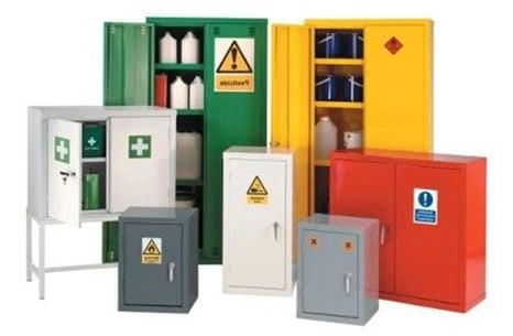 armoires d'entreposages de produits chimiques