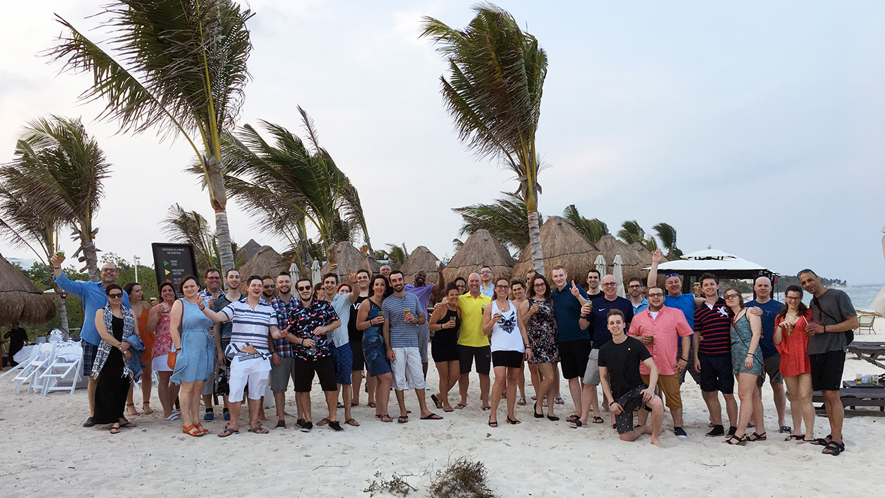 Damotech team in mexico