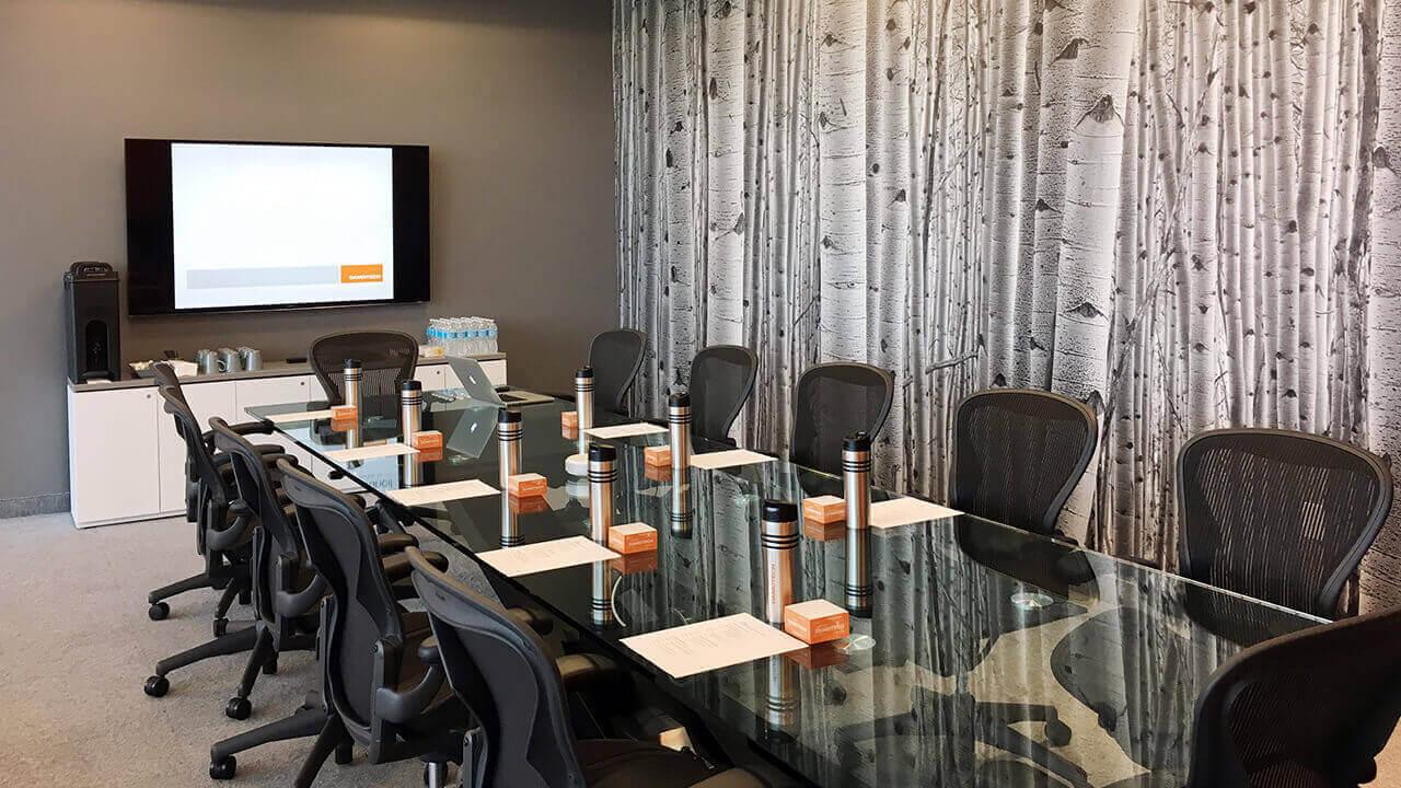 Damotech's main meeting room