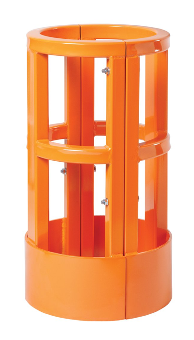 DamotechShield building column protector for warehouse safety