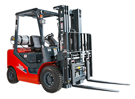 Forklift Up-Close