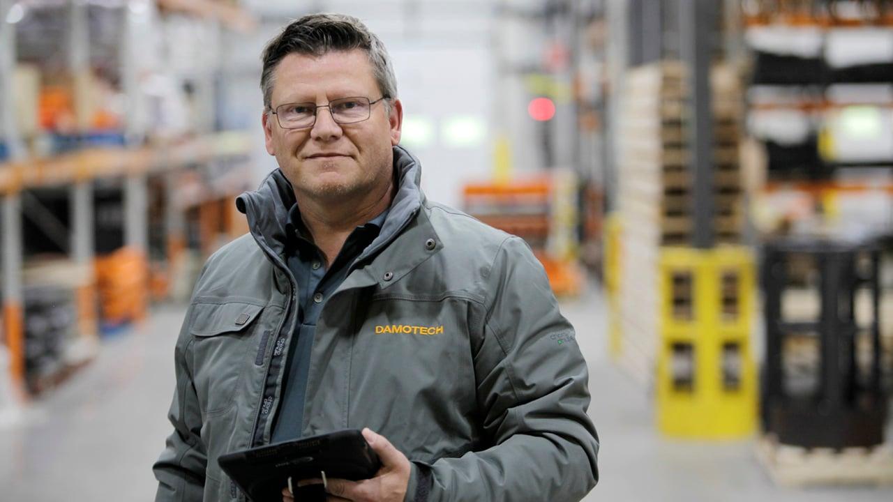 Damotech rack safety expert