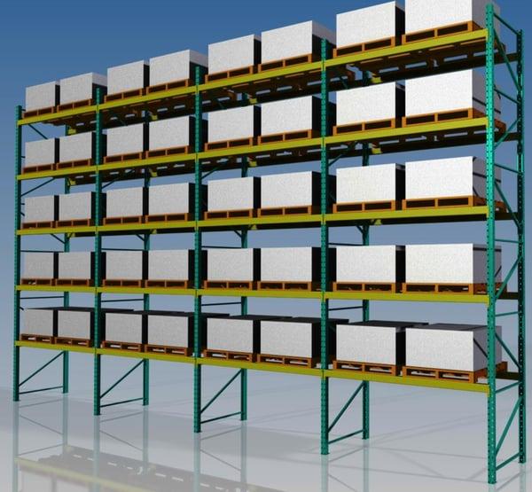 pallet rack beams