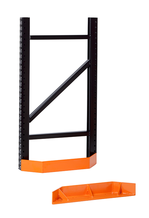 Damo EndGuard to protect pallet racks