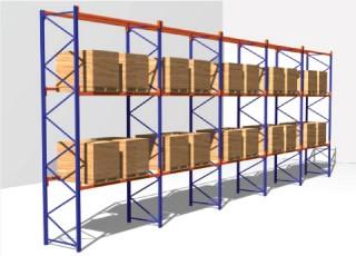 Figure 1: Single-Deep Pallet Racks