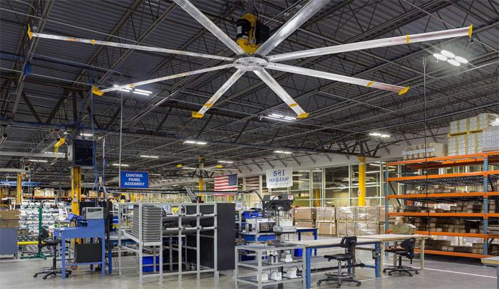 Warehouse fan