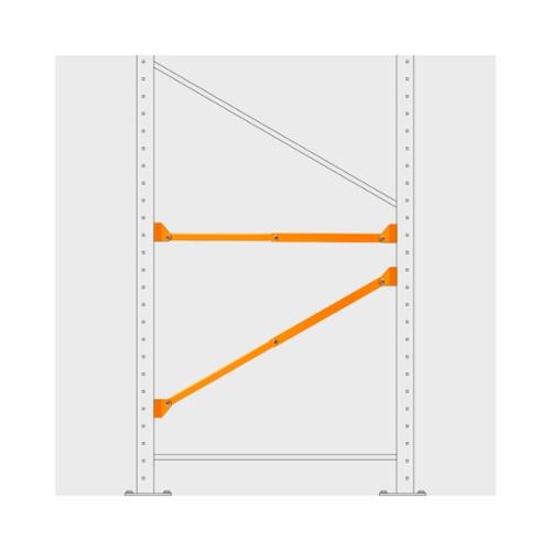 Damo Brace - contreventement horizontal ou diagonal