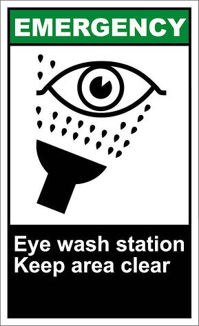 eyewash poster