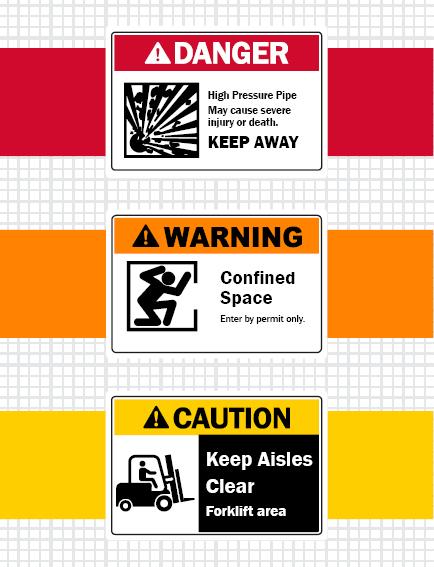 OSHA requirements for signage