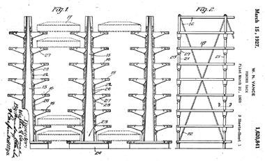 Early customizable rack.
