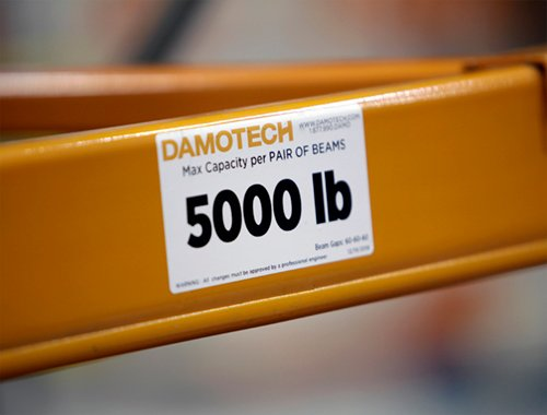 Load capacity label