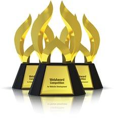 webaward 2020 outstanding achievement in web development