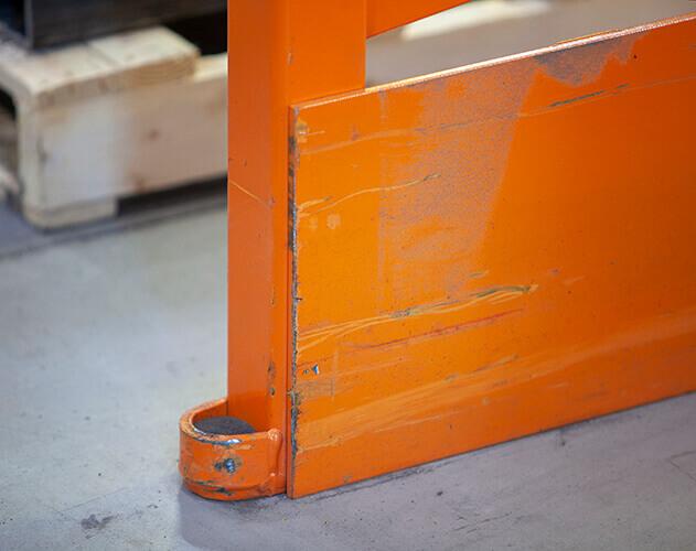Pallet rack repair kit Damo Pro Deflex Plate